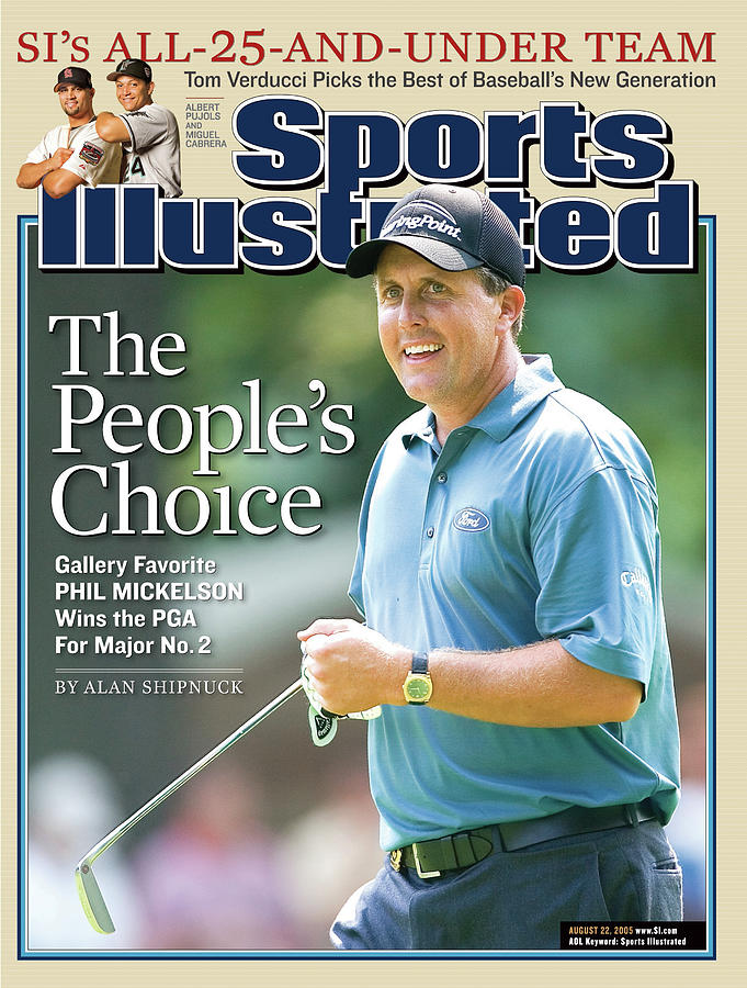 The Peoples Choice Gallery Favorite Phil Mickelson Wins The Sports Illustrated Cover Photograph by Sports Illustrated