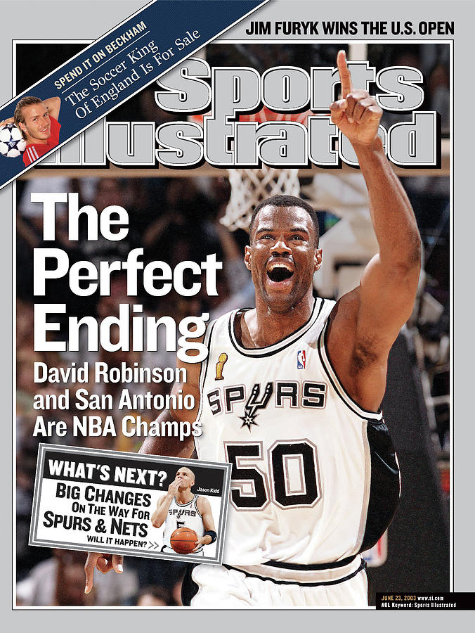 The Perfect Ending David Robinson And San Antonio Are Nba Sports Illustrated Cover Photograph by Sports Illustrated