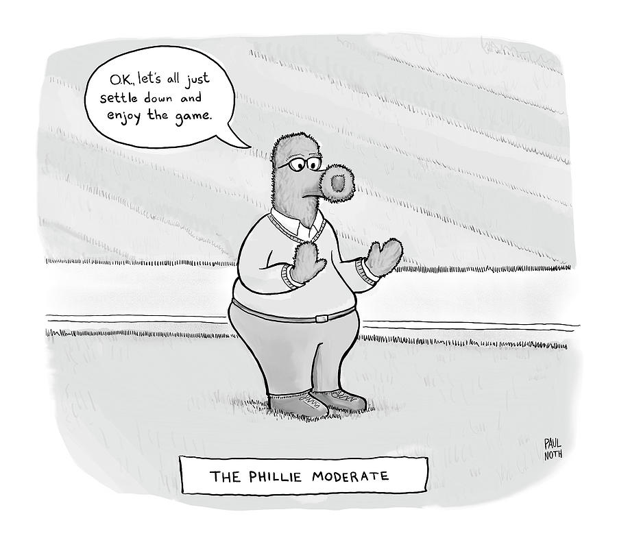 The Phillie Moderate Drawing by Paul Noth
