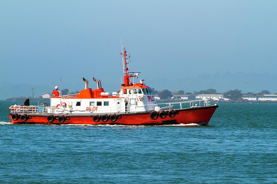 The Pilot Boat California by Bonnie Follett
