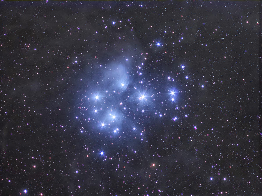 The Pleiades by Daniele Gasparri