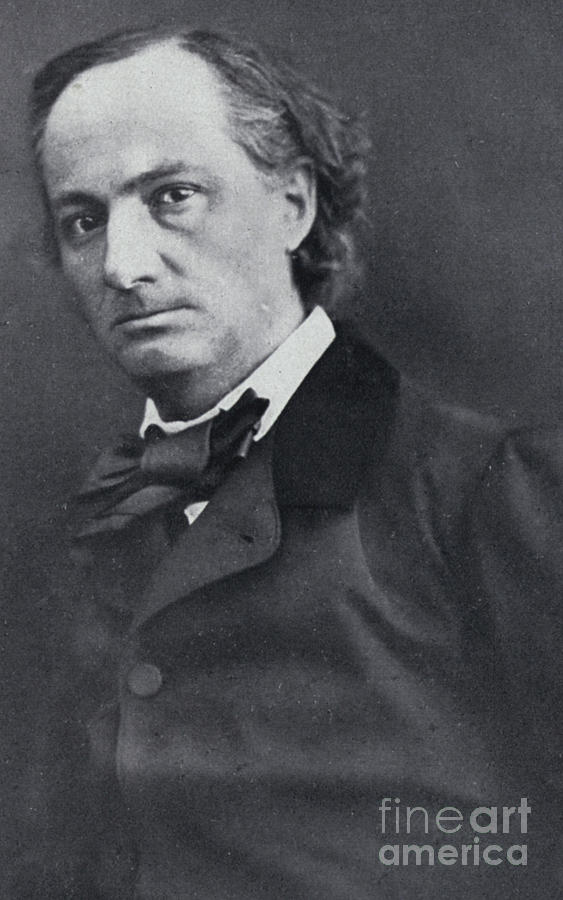 The poet Charles Baudelaire  Nadar photo by Nadar