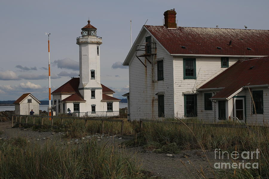 The Point Wilson Light was built in 1913 by the United States Lighthouse service.  by Mr Pat Hathaway Archives