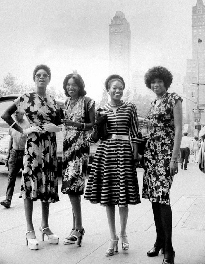 The Pointer Sisters L. To R. Ruth Photograph by New York Daily News Archive