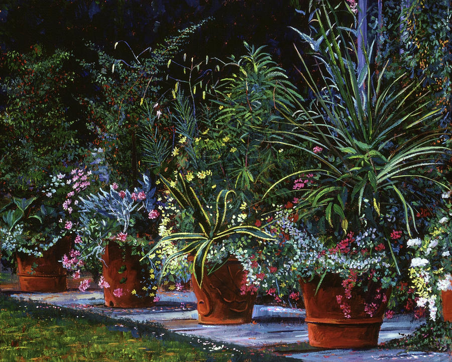 The Potted Garden Painting