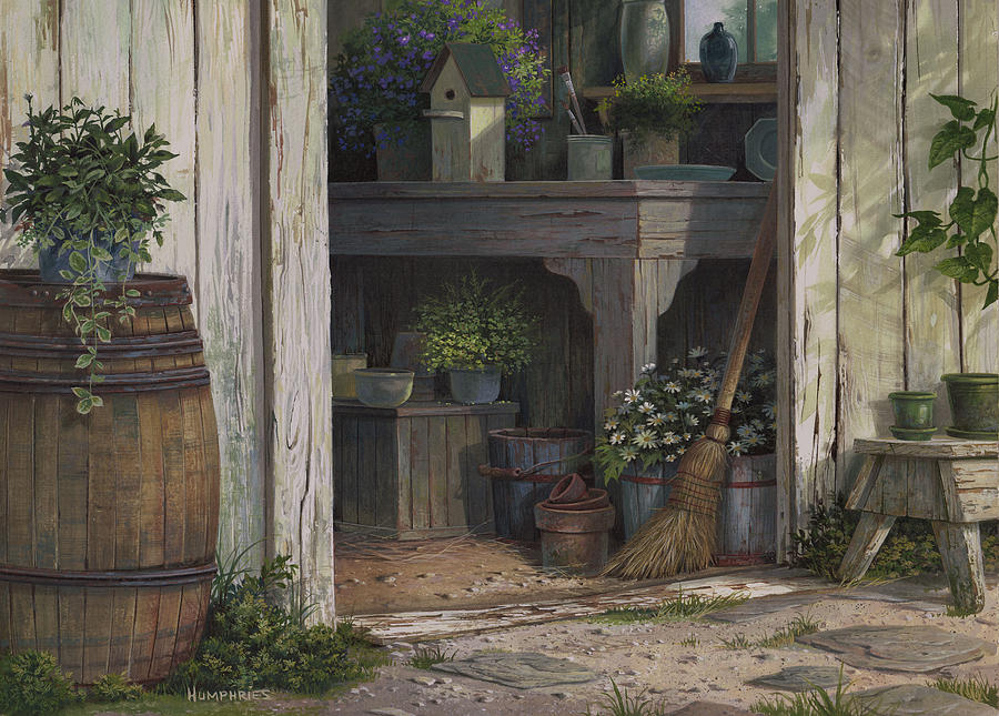 The Potting Shed by Michael Humphries