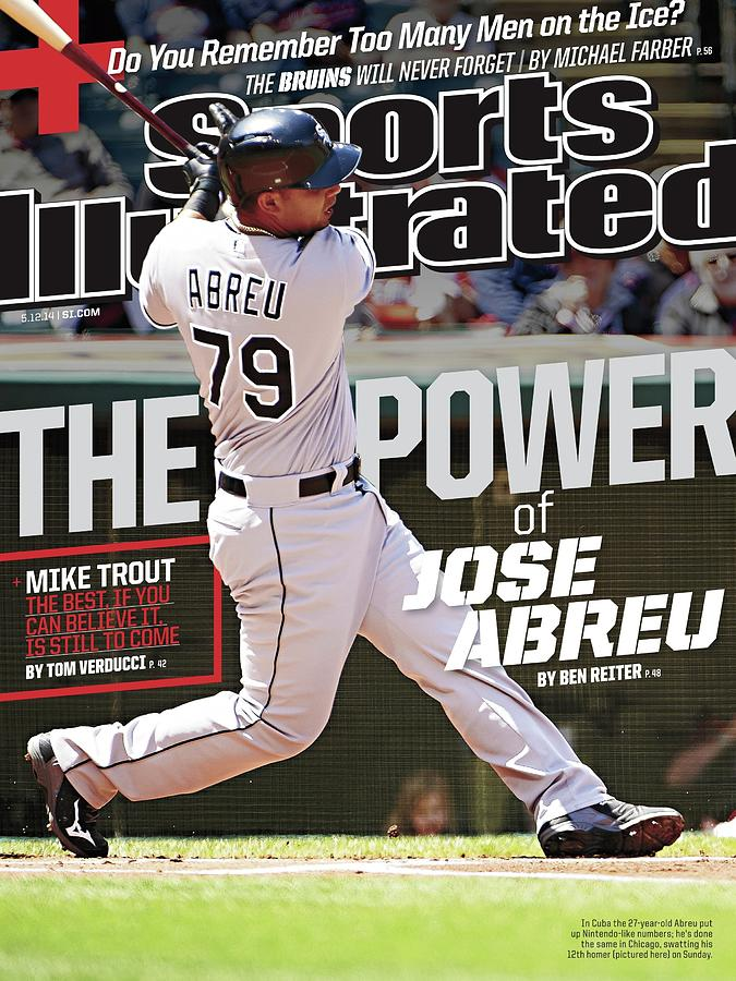 The Power Of Jose Abreu Sports Illustrated Cover Photograph by Sports Illustrated
