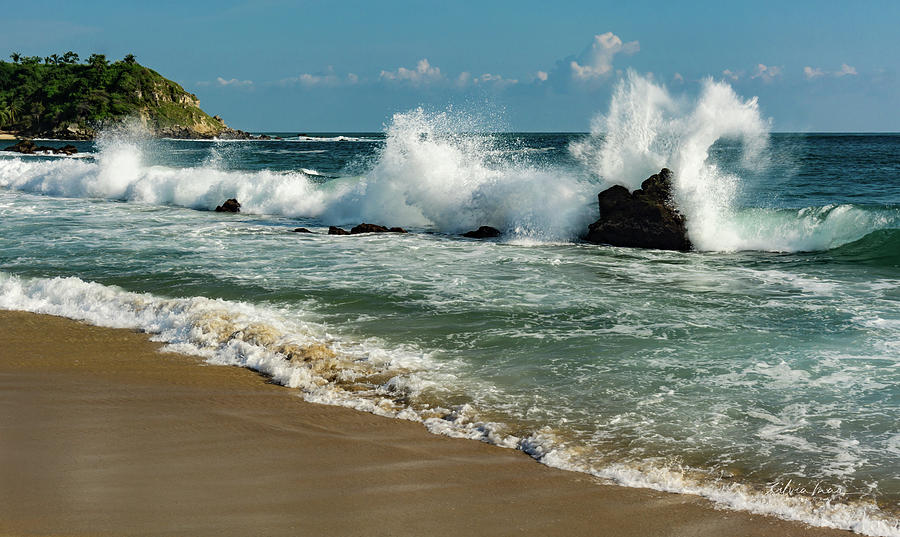 The power of the wave. by Silvia Marcoschamer
