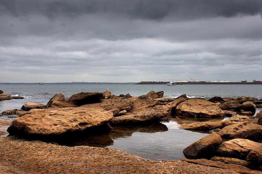 The Pretty Rocks On Bare Island by Miroslava Jurcik