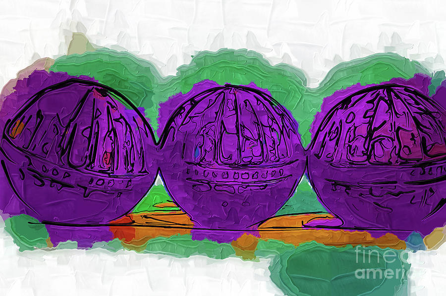 The Purple Balls by Kirt Tisdale