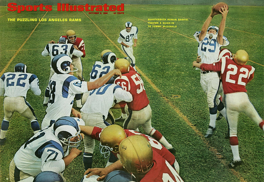 The Puzzling Los Angeles Rams Sports Illustrated Cover Photograph by Sports Illustrated