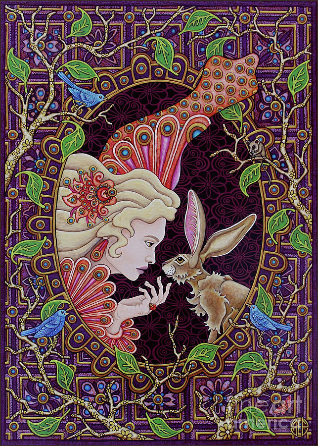 The Queen and The Hare by Amy E Fraser