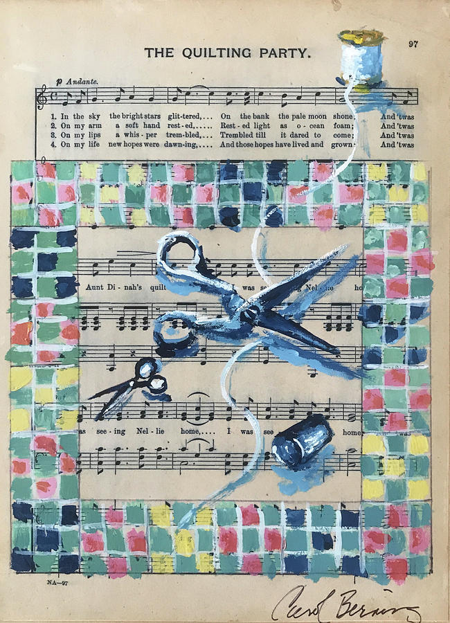 The Quilting Party by Carol Berning