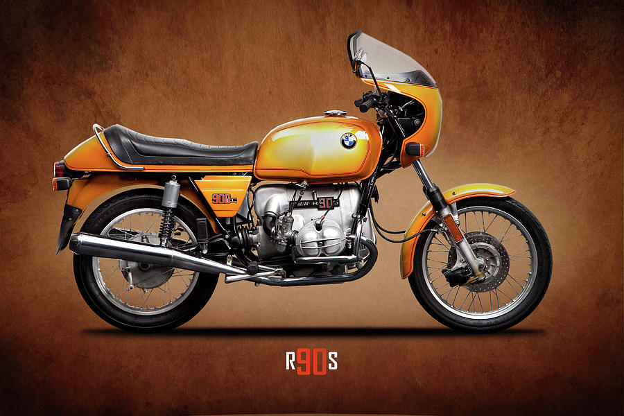 Bmw Photograph - The R90s Motorcycle by Mark Rogan