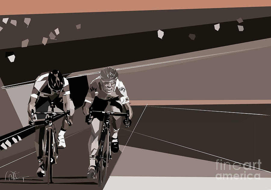 The race is on by Wendy Thompson