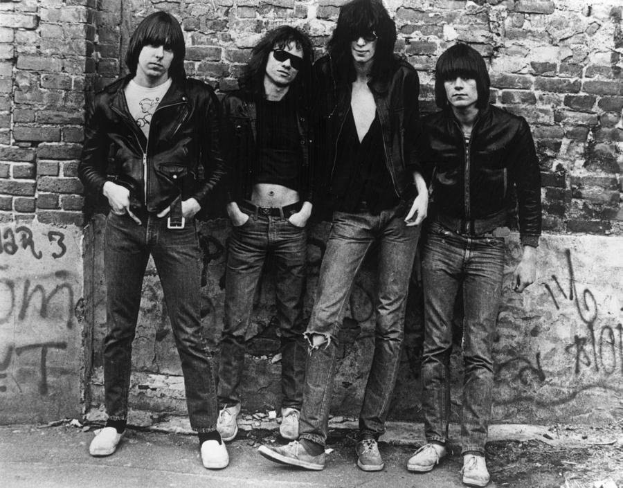 The Ramones Photograph by Roberta Bayley