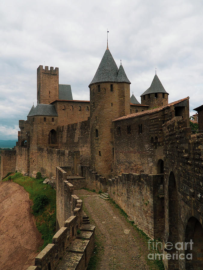 The Ramparts of Carcassonne by Mary Capriole