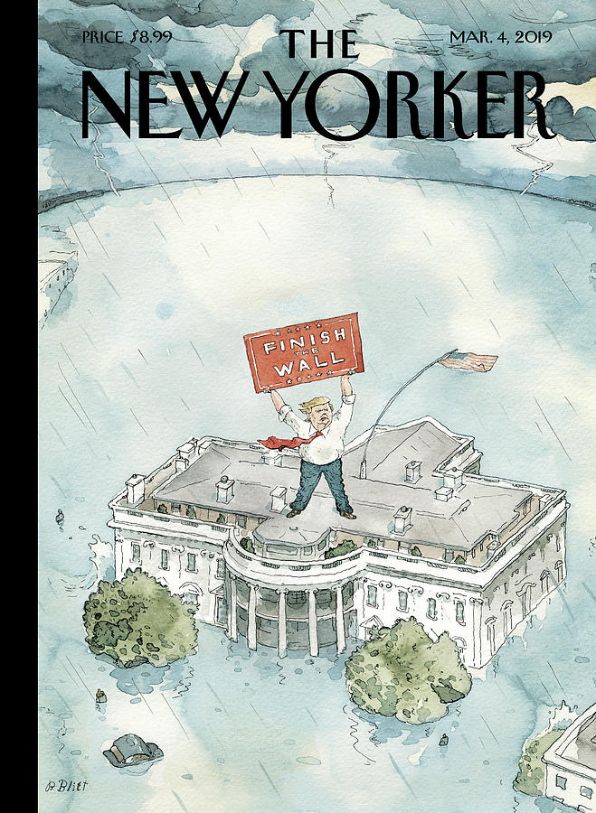The Real Emergency Painting by Barry Blitt
