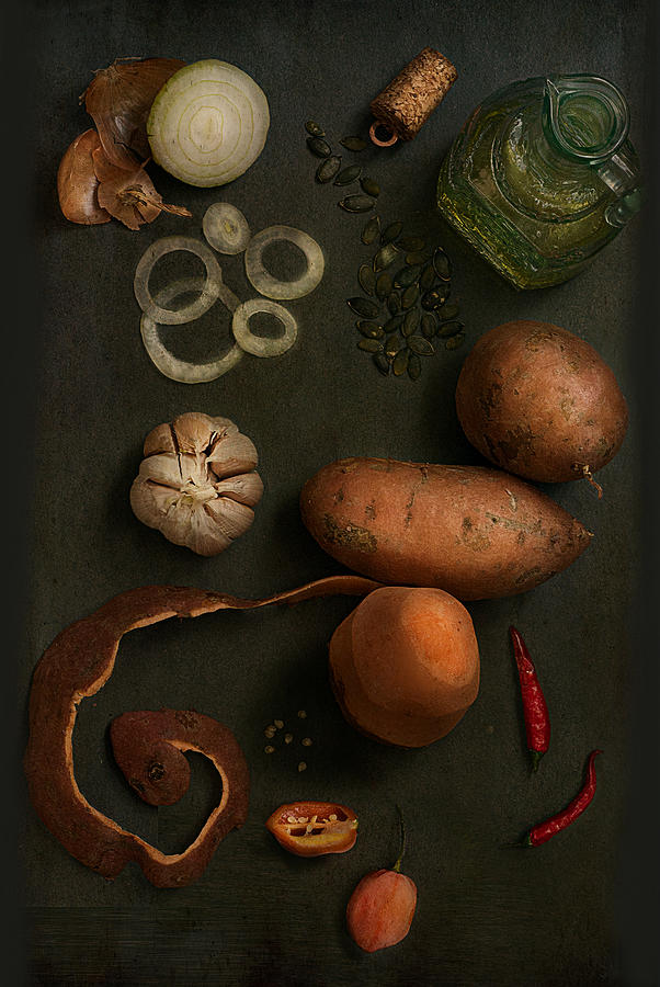 Spicy Photograph - The Recipe II by Bernadette Heemskerk