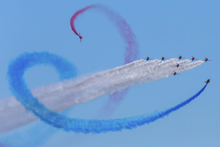 The Red Arrows Photograph