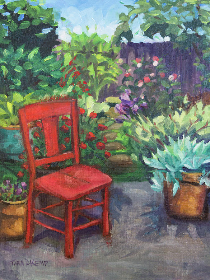 The Red Chair by Tara D Kemp