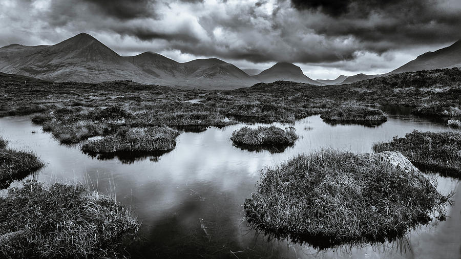 The Red Cuillin Hills Photograph