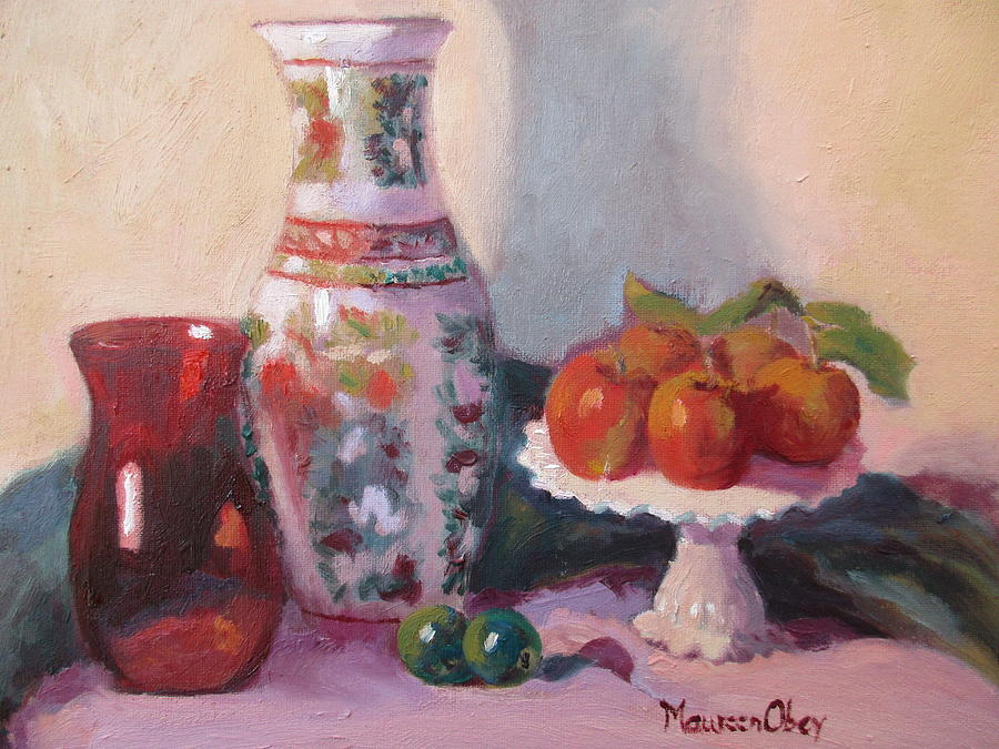 The Red Glass by Maureen Obey