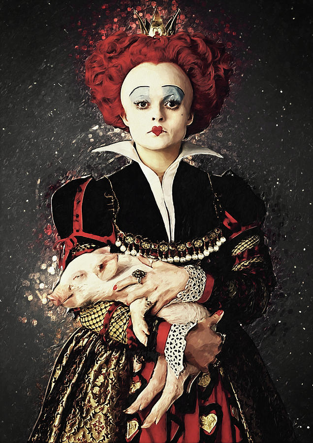 The Red Queen Digital Art - The Red Queen by Zapista OU