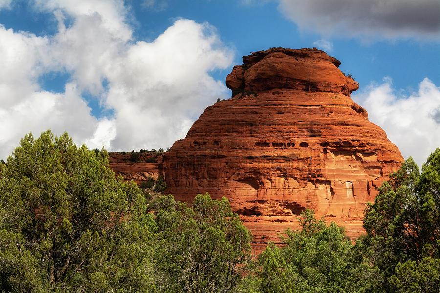 Sedona Photograph - The Red Rock Spires  by Saija Lehtonen