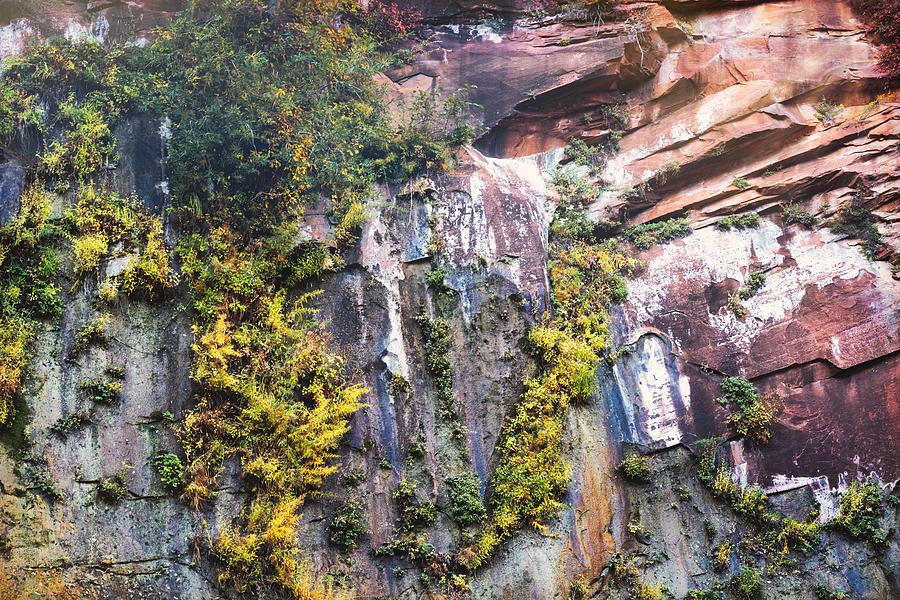 The Red Rock Wall  by Saija Lehtonen