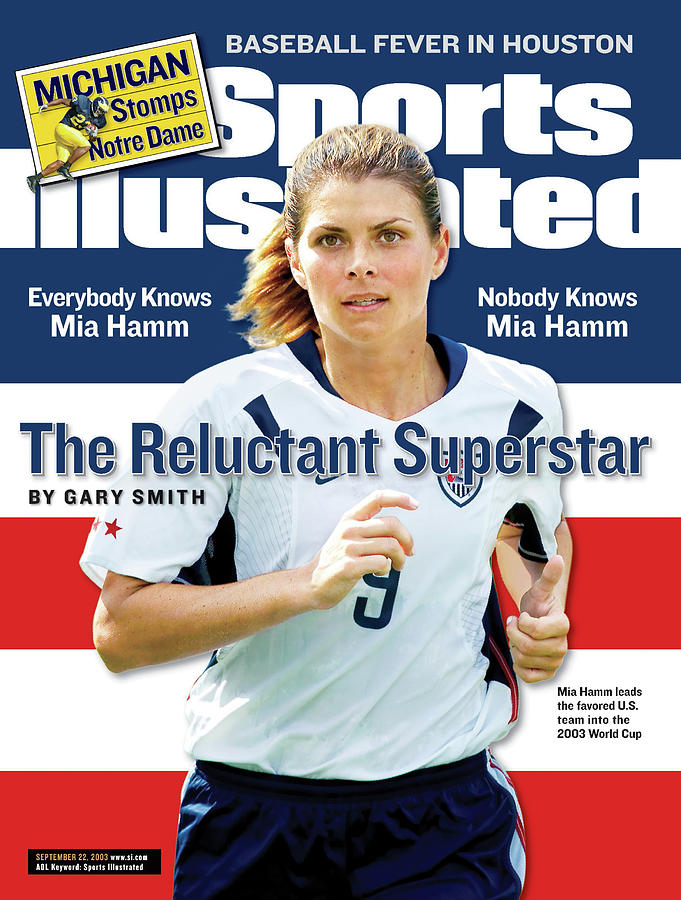 The Reluctant Superstar Everybody Knows Mia Hamm, Nobody Sports Illustrated Cover Photograph by Sports Illustrated