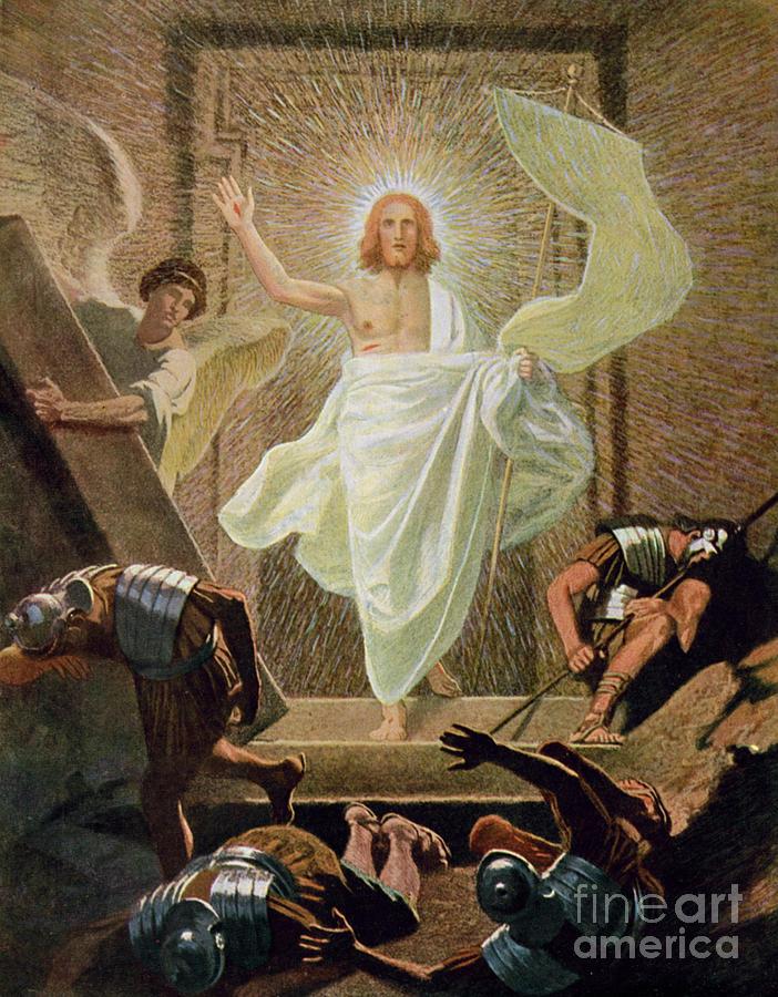 Miraculous Painting - The Resurrection Of Christ By Gebhard Fugel by Gebhard Fugel