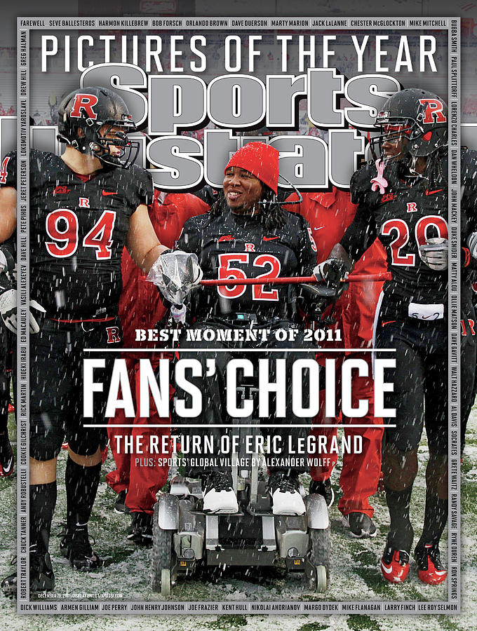 The Return Of Eric Legrand, Fans Choice Best Moment Of 2011 Sports Illustrated Cover Photograph by Sports Illustrated