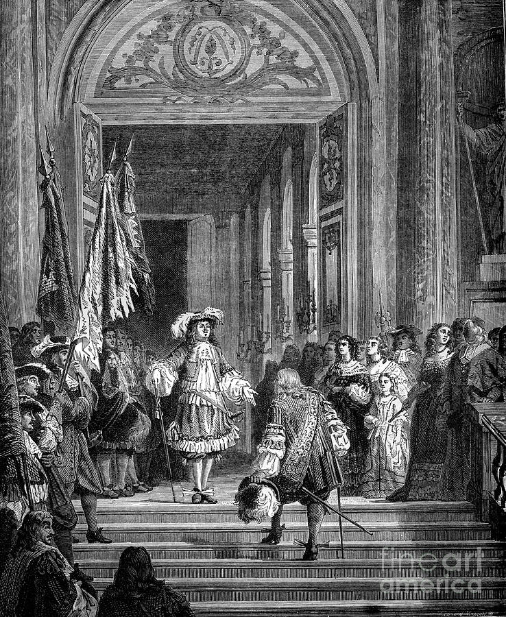 The Return Of The Grand Conde Drawing by Print Collector