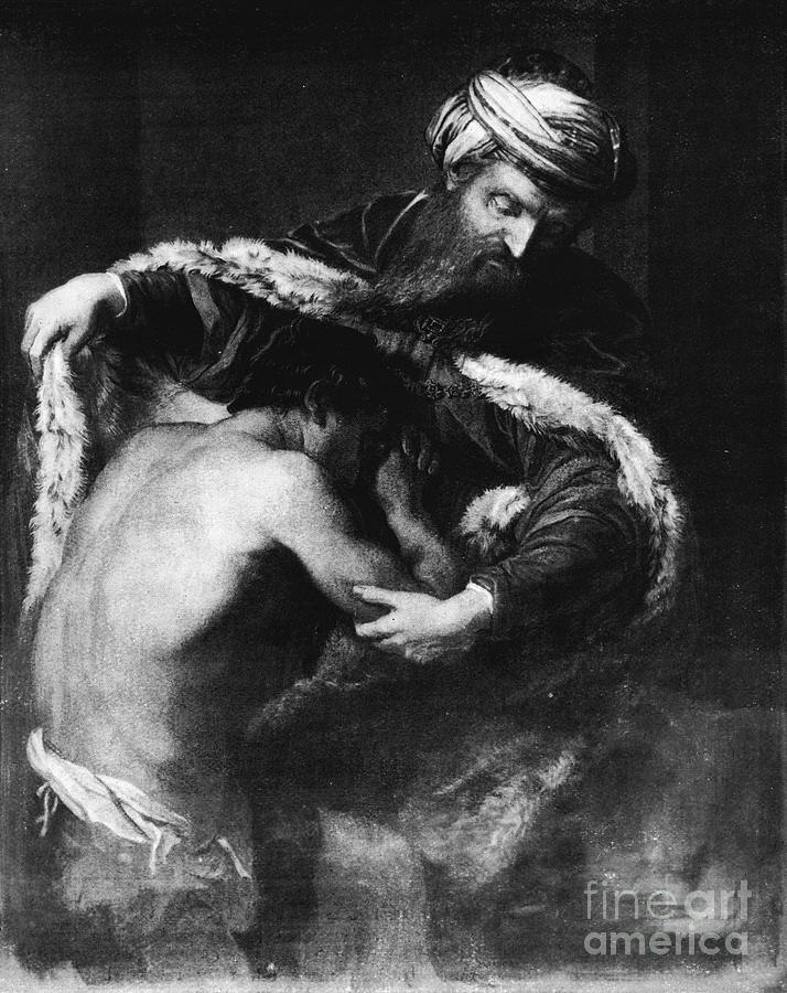 The Return Of The Prodigal Son Drawing by Print Collector
