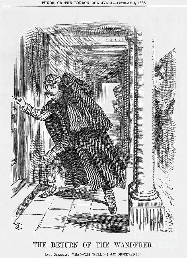 The Return Of The Wanderer, 1888 Drawing by Print Collector
