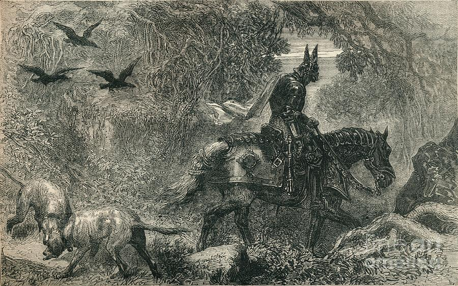 The Return Of Warbeck, C1910 Drawing by Print Collector