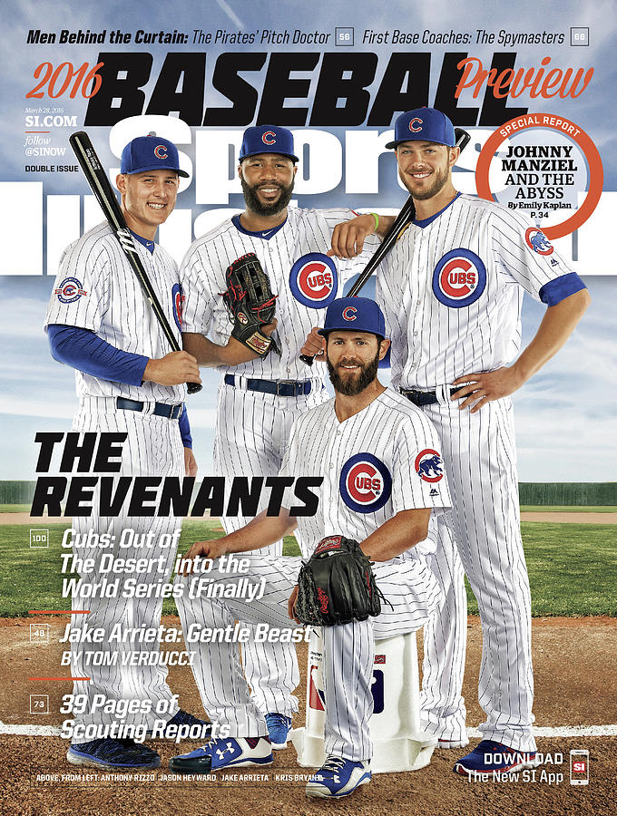 The Revenants, 2016 Mlb Baseball Preview Issue Sports Illustrated Cover Photograph by Sports Illustrated