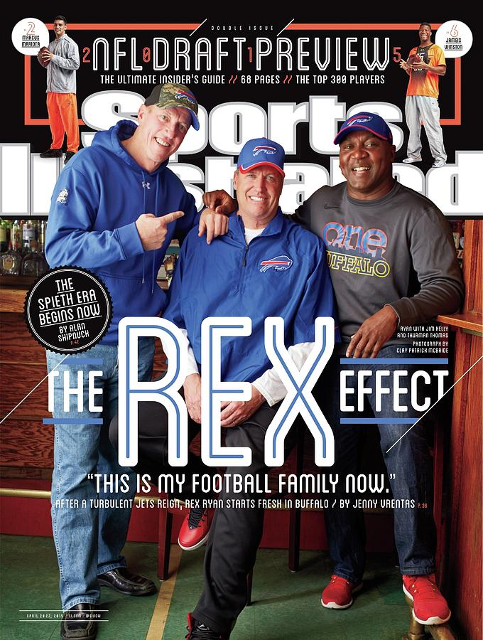 The Rex Effect Sports Illustrated Cover Photograph by Sports Illustrated