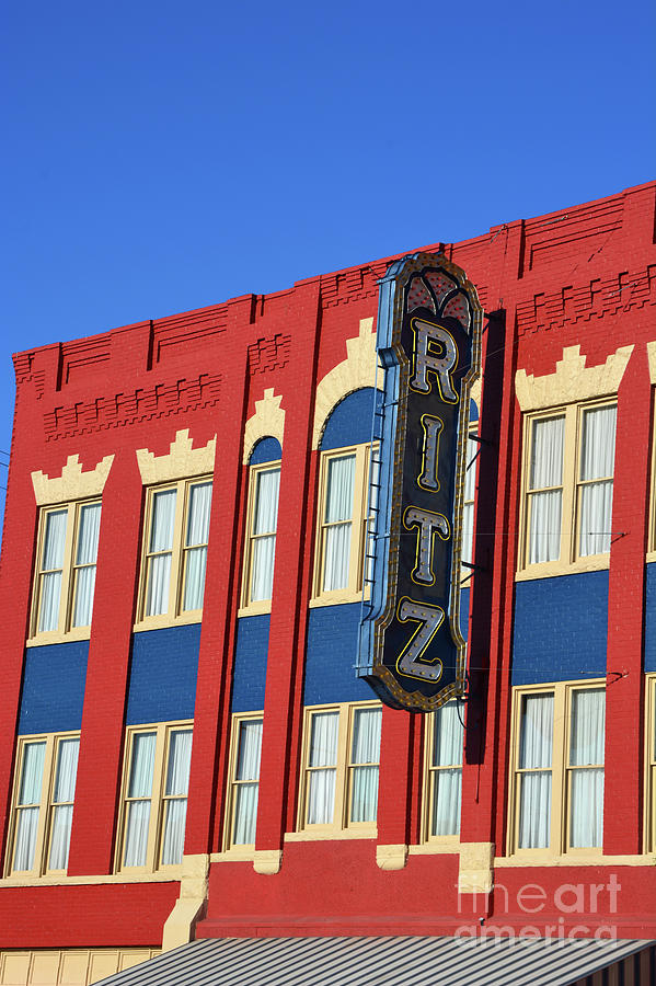 The Ritz Theatre by Katherine W Morse