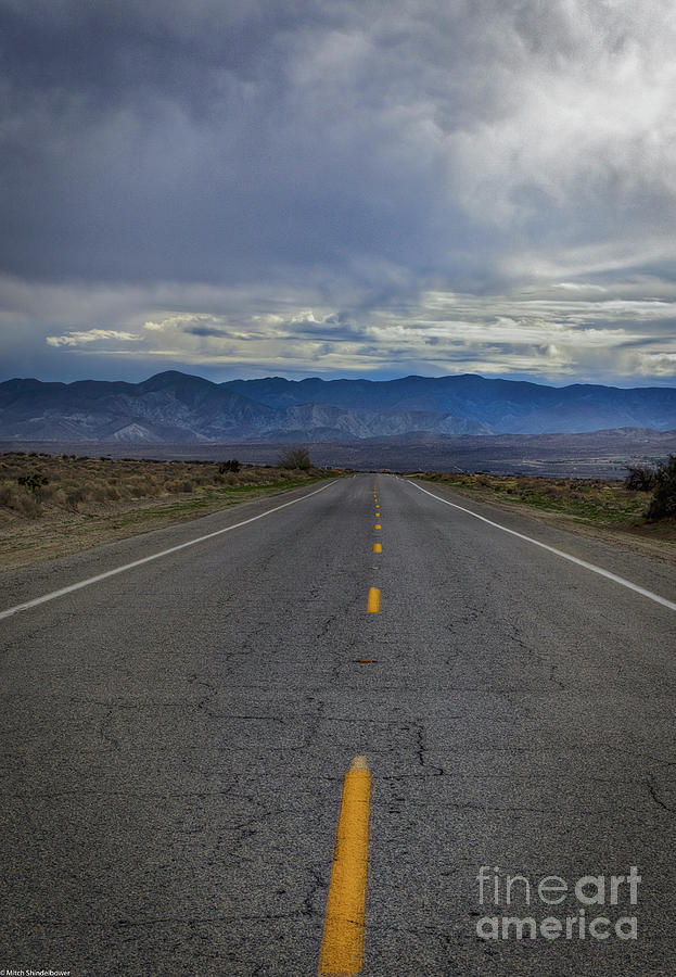 The Road Goes On Forever by Mitch Shindelbower