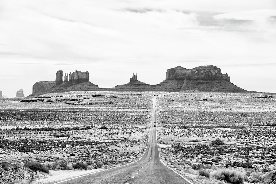 The Road into Monument Valley by Keith Dotson
