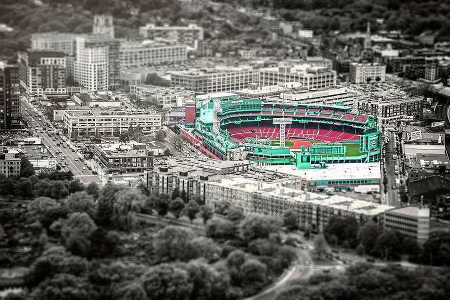 The Road to Fenway Park  Boston Red Sox by Carol Japp