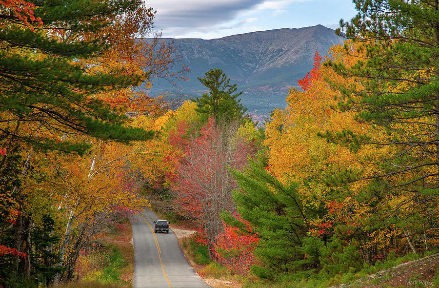 The Road To Katahdin by Mark Papke