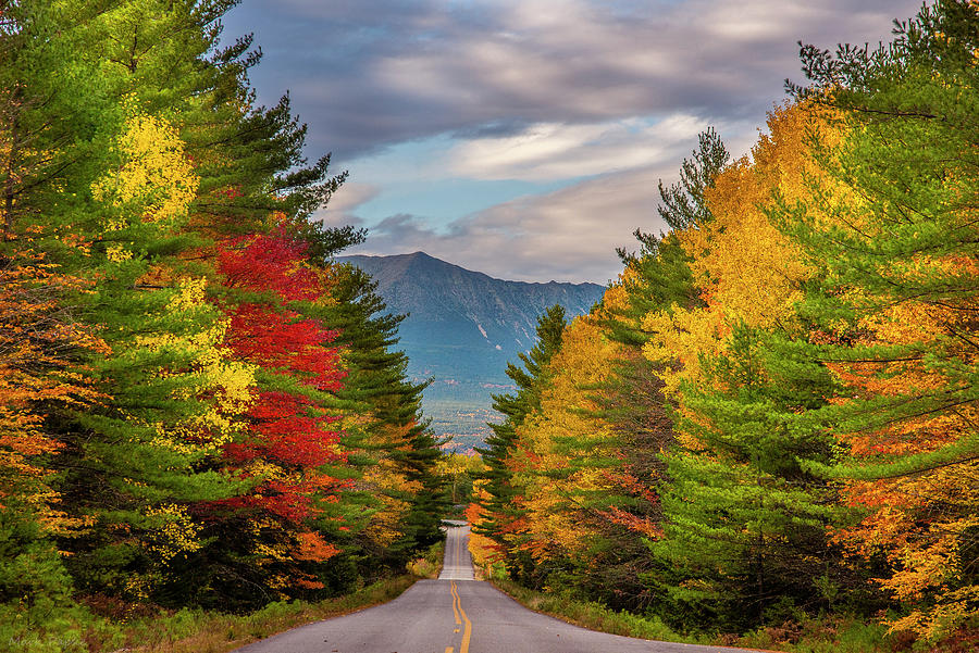 The Road to Katahdin Mountain by Mark Papke