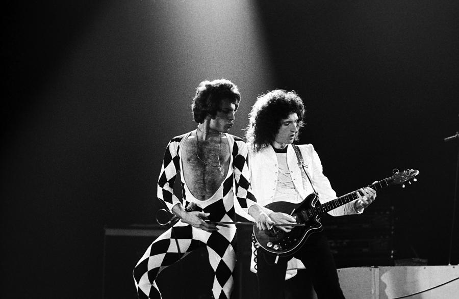 The Rock Group Queen In Concert Photograph by George Rose