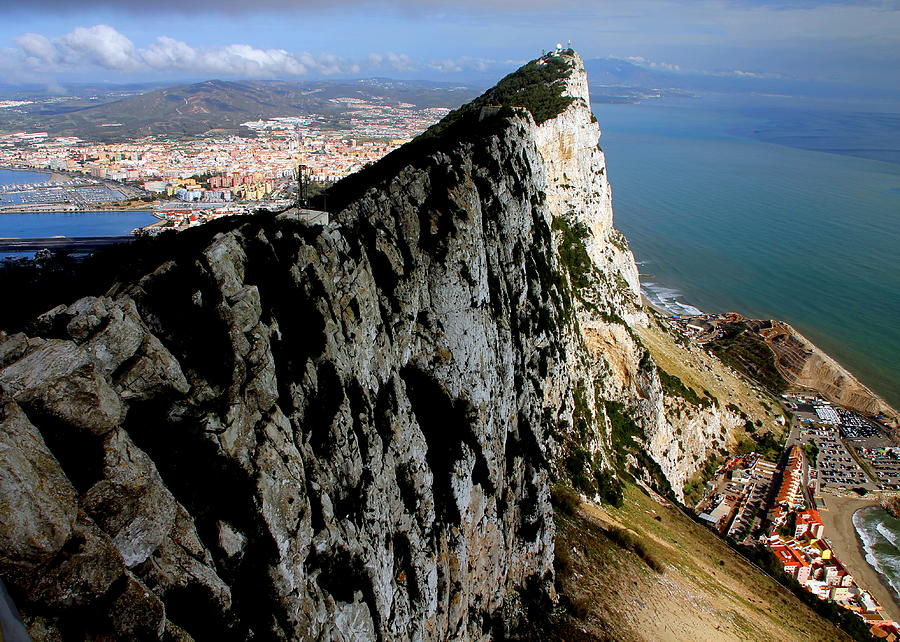 The Rock of Gibraltar by Laurel Talabere