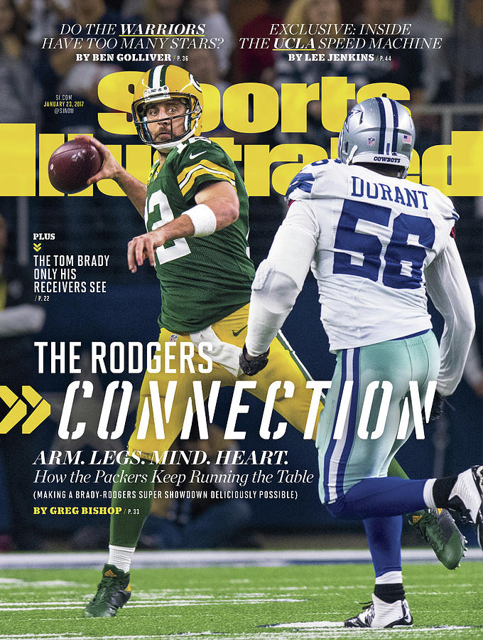 The Rodgers Connection Arm. Legs. Mind. Heart. Sports Illustrated Cover Photograph by Sports Illustrated