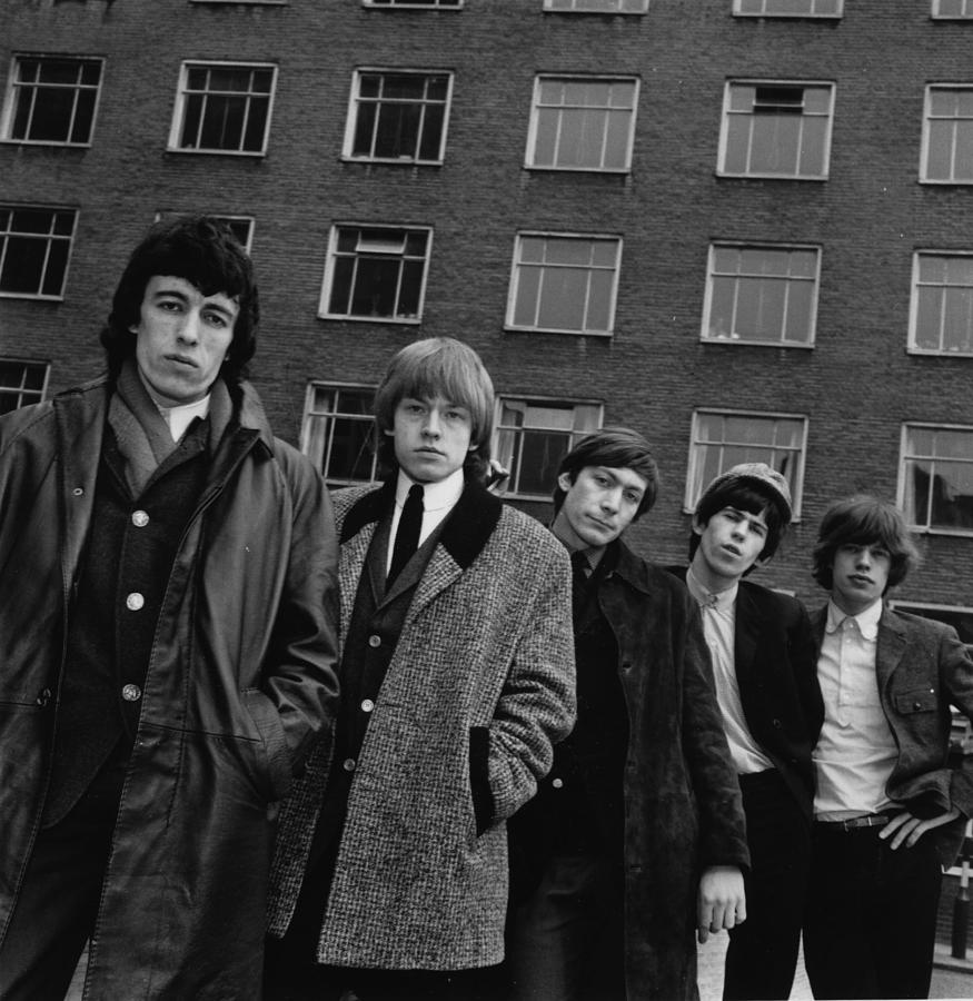 The Rolling Stones Photograph by Evening Standard