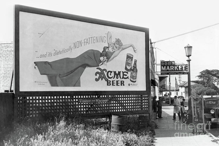 The Roma Market Direct Imported Italian Food May 1940 by California Views Archives Mr Pat Hathaway Archives